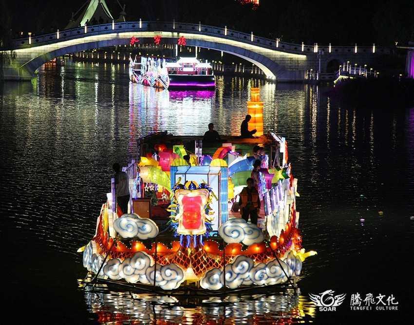 夜游节彩船巡游