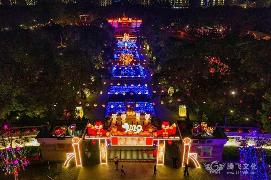 腾飞彩灯点亮上海2019年元宵bwin手机版登入